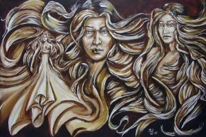 Three Sisters by mikey-madness