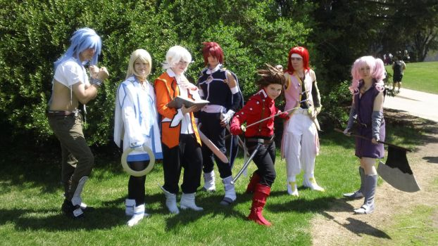 Tales of symphonia Group Picture by Ixenkothar