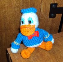 Donald Duck by VanillaAcolytes