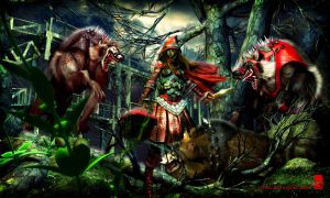 Little Red Riding hood by Sleepinglion