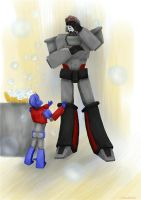 Lord Protector and  baby Prime by DeadRain6