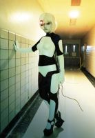 GLaDOS: All the Cake Is Gone by ember-ablaze