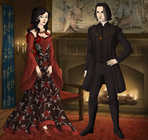 Severus and Star Waiting for Richard by EmpressTerra