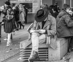 Writing In London by OllieWie