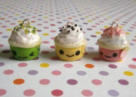 Frozen Yogurt Charms by Fimochu