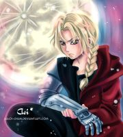 Edward Elric by AiAoi-chan