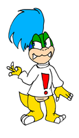 Larry as Bubsy by Aso-Designer