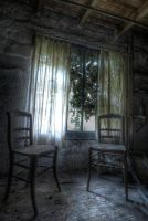 two lonely seats.. by Lkeke