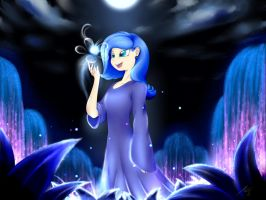 Night's Wish, Bless this Child Luna by BluDraconoid