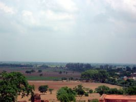 View from Fatehpur Sikri by Ranora