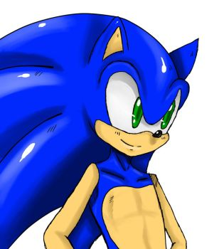 Sonic Portrait by ss2sonic