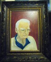 My Grandfather Framed by FireWolfWitch