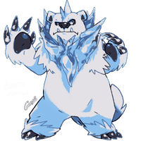 Beartic Redesign by MBLOCK