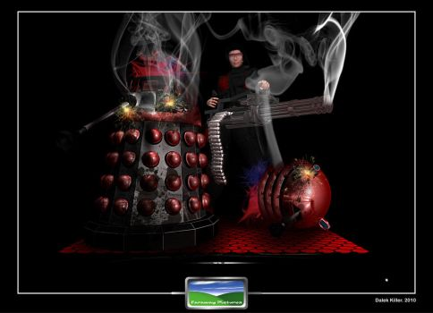 Dalek killer by FarawayPictures