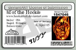 DA ID card by hookahbill
