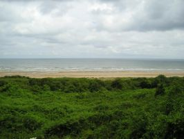 View over Omaha beach by SASWHITEKNIGHT