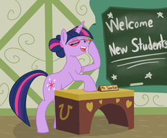 Class Is In Session by SlipSketch