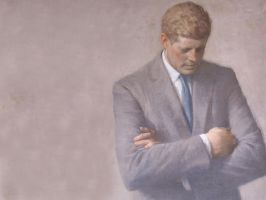John F. Kennedy by Lord-Iluvatar