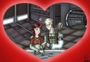 K2-V-Day 2012-Love in the Garage by MaskedSugarGirl