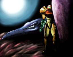Samus by Xeinne