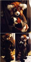Red Panda partial #2 by Adele-Waldrom