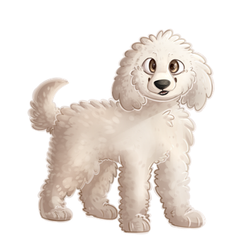 001 - Poodle by ChocoWhite-QueenDuck