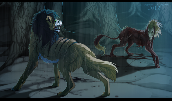 Collab - Fight For Dominion Tonight by Grypwolf