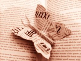 words Butterfly by flick-of-the-wrist