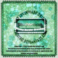 Stamp Border brushes Photoshop by FrostBo