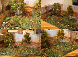 Fox By The Pond Diorama Contest Submission by OutBack-Art