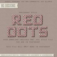 PS Style: Red Dots by HGGraphicDesigns