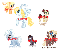 CLOSED - Nursery Rhyme - Adoptables Set #4 by rem-ains