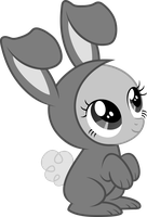 Bunny Suit Filly Base by RAGErER