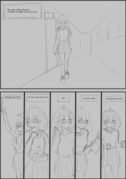 Uneven Growth Girl scrapped comic page 1 by Tsuyoshi-kun
