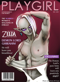 PLAYGIRL- Demon Lord Ghirahim by tavington