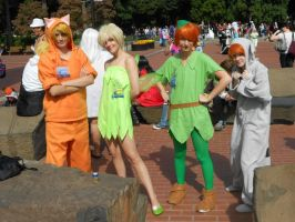 Kumoricon 2012 Peter Pan group by Catchmewithyourlips