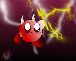 Devil thing by KirbyDude64