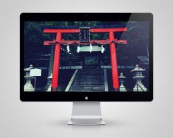 Torii Wallpaper by drumzrtight