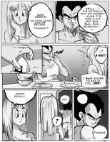 Dbz: Bulma and Vegeta - Firstkiss: Chapter 1, Pg17 by longlovevegeta