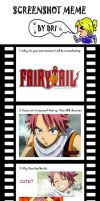 Fairy Tail Screenshot Meme by alwaysmeran