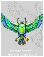 Egyptian Scarab by hatefueled