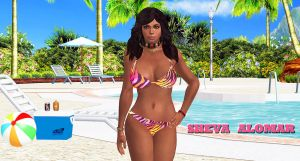 Sheva Alomar    POOL-QUEEN by blw7920