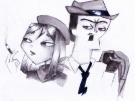 -Bonnie and Clyde- by keytaro