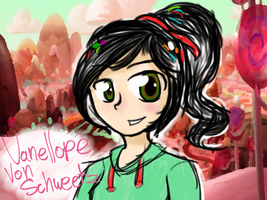 Vanellope by puppyloverpearl