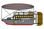 Steampunk style airship animation by trainguy101