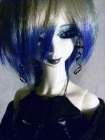 Fading Into Cerulean by WyldAngel-dolls