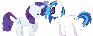 :CO: Rarity+Vinyl Scratch by mylittlepluto