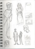 Divergent Sketches by Popsicle222