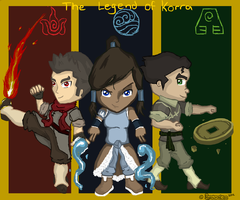 Legend of Korra Chibi by RyanimationArts