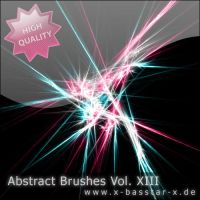 Abstract Brushes vol. 13 - 5x by basstar